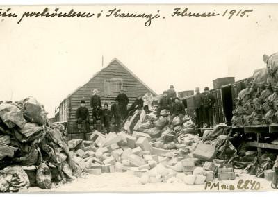 Vykort till Postmuseum från Karungi