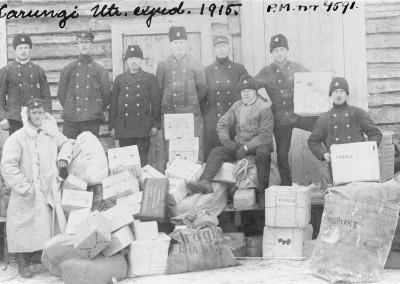 Postanställda bland post