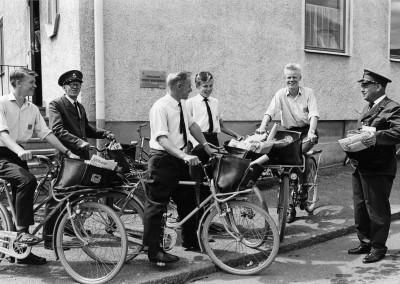 Brevbärare Mönsterås 1962