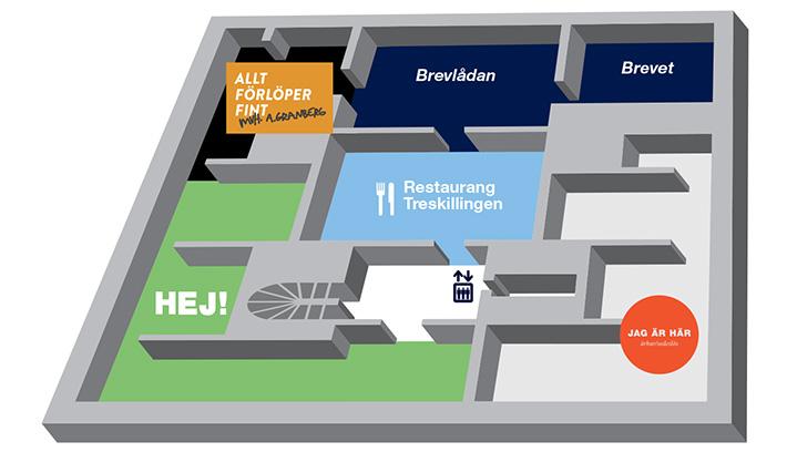 Museikarta Våning 1