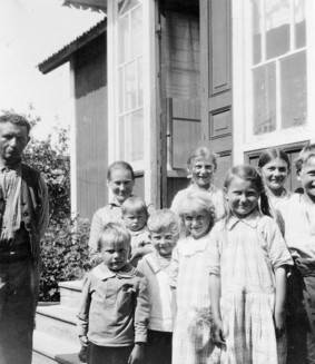 En svensk kraftkarl och hans vassa fru