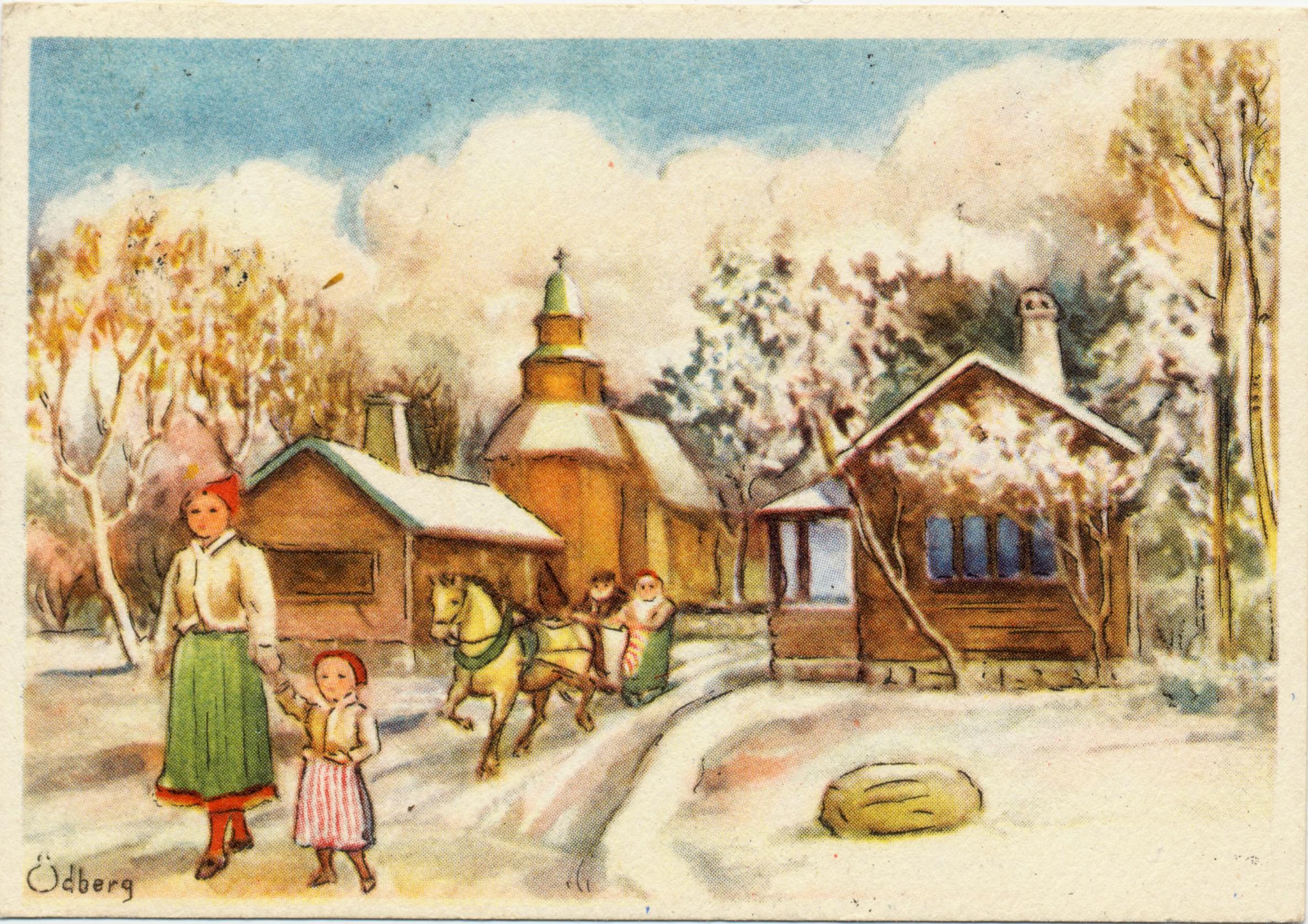 Animerade Julkort Med Musik Gratis