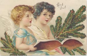 Två änglar bland tallkvistar Från Frederique och Hild till Ida 1900 PS