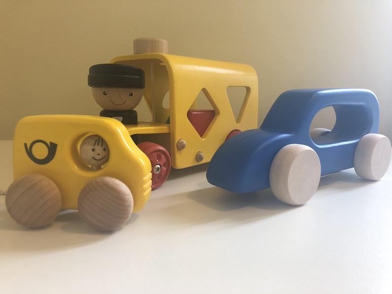 Postbilar -leksaksbilar