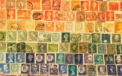 Skapa med frimärken