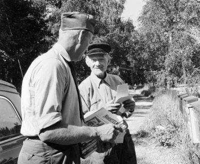 Syd 17: Två lantbrevbärare