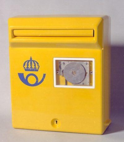 Brevlåda 35 Ackings plastbrevlåda