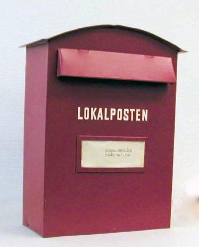 Brevlåda 30 Borås lokalpost