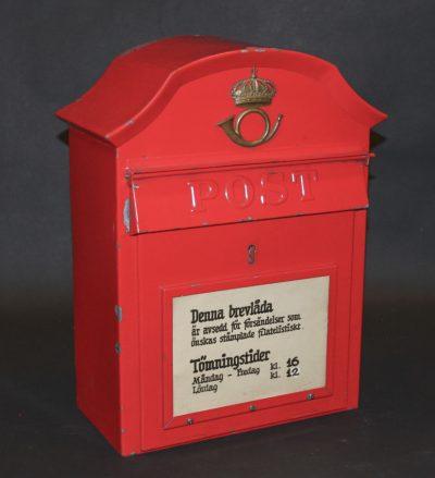 Brevlåda 29 Bara för brev med fina stämplar