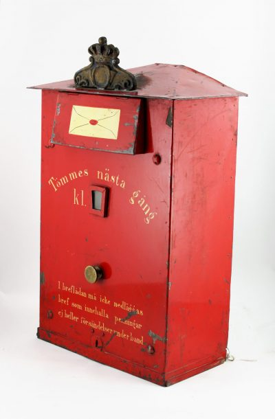 Brevlåda 8 Wibergs mekaniska brevlåda